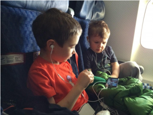 Kids in business class?