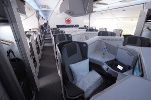 """Fly the Flag"" with Air Canada Business Class"