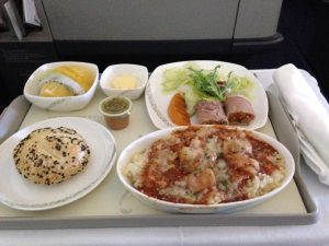 Business Class on Air China