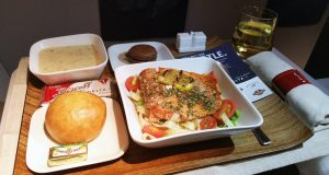 Business Class on Delta Airlines