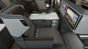 EVA Airlines Business Class