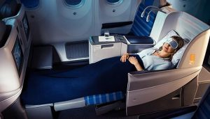 Business Class on LOT Polish Airlines