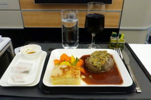Business Class on Swiss Airlines