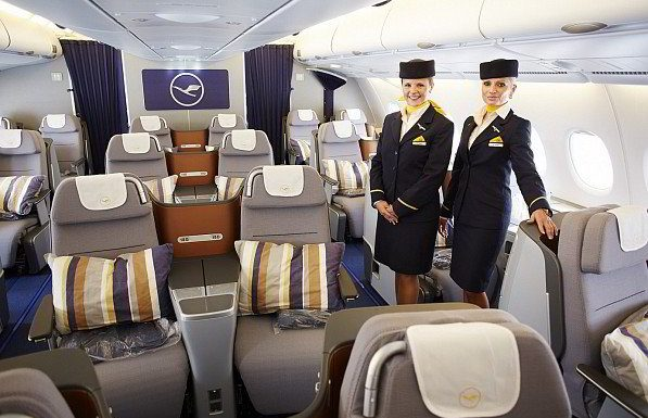 Flying With Lufthansa