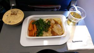 Fly with Qantas Airlines