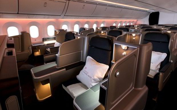 Flying Business Class with Qantas Airlines