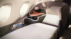 Singpaore Airlines Business Class