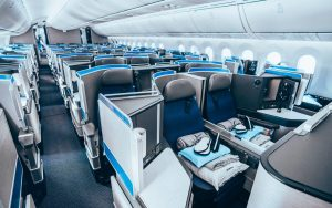 Business Class on United Airlines