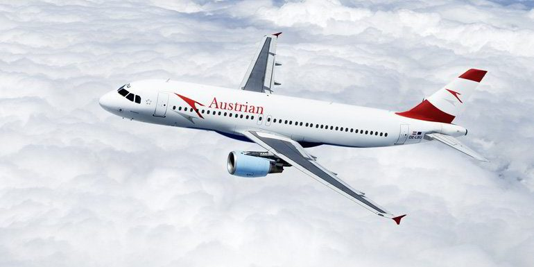 Flying With Austrian Airlines