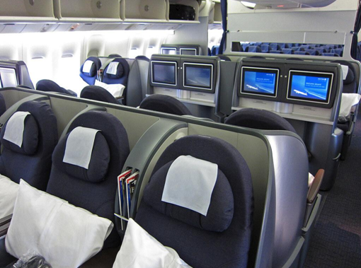 Are business class flights tax deductible?