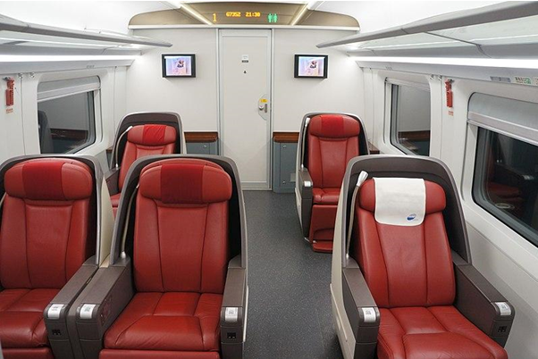Is there business class on domestic flights?