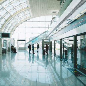 The 10 largest airports in the world