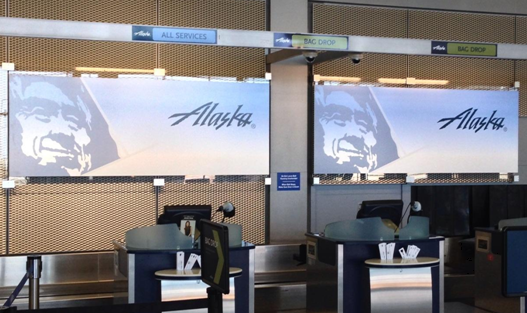 Alaska Business & First Class Lounge
