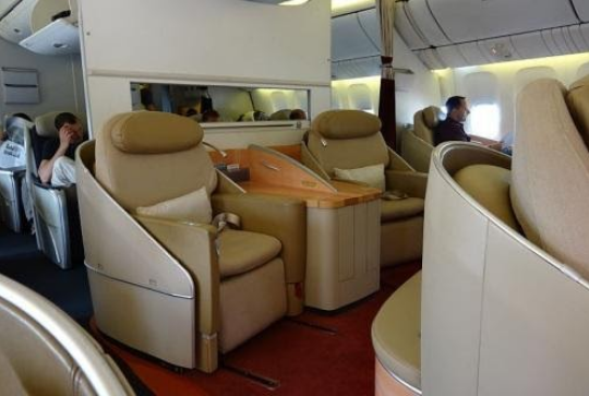 What you need to know when traveling for the first time in first class?