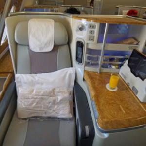 Business class means you must travel on business?