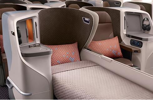 Singapore Airlines Regional Business Class – A350 and 787