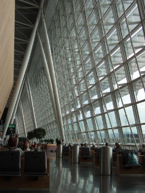 Delta Airlines Business and First class lounge