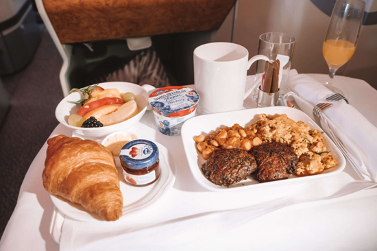 Emirates Food and Dining Experience
