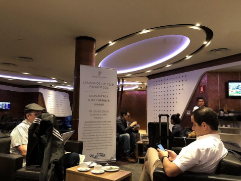 Aero Mexico Business and First Class Lounge