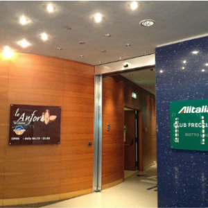 Alitalia Airlines Business and First Class Lounge