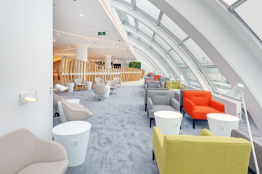 China Southern Airline Business and First class lounge