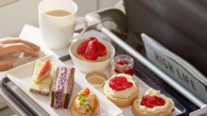 British Airways - Business Class Food and Drinks